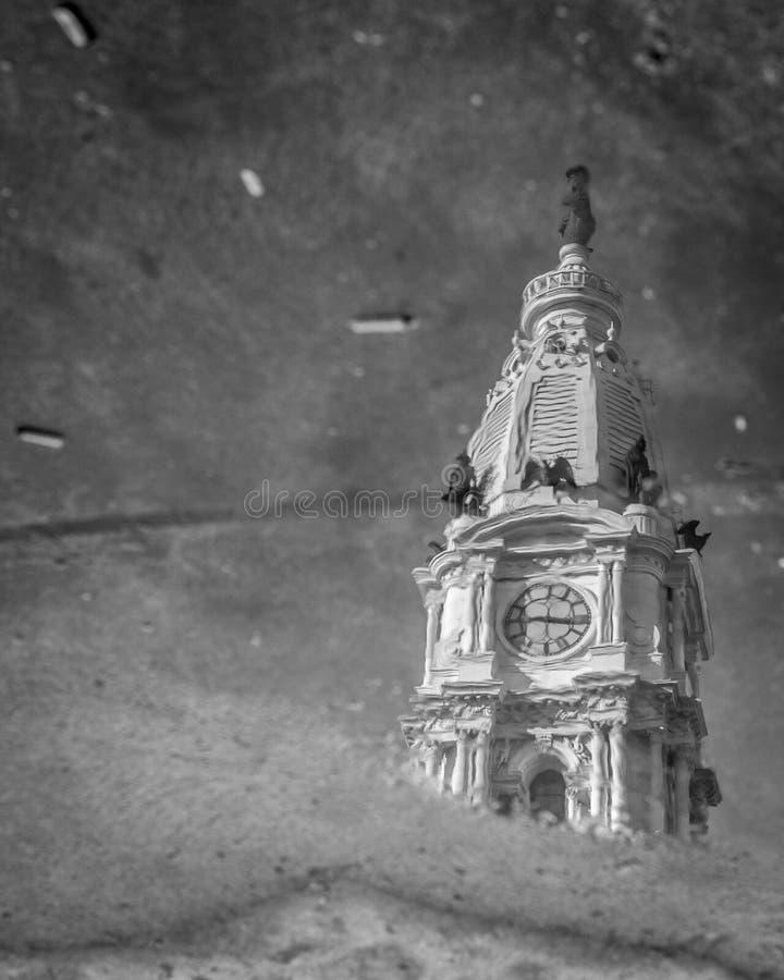 Reflexiones de Philadelphia fotos de archivo