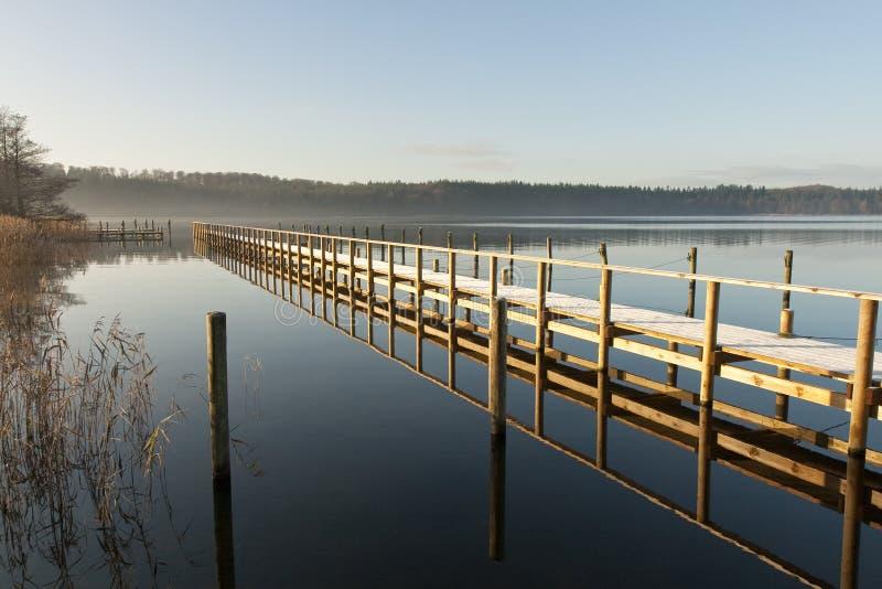 Reflexiones en un lago imágenes de archivo libres de regalías