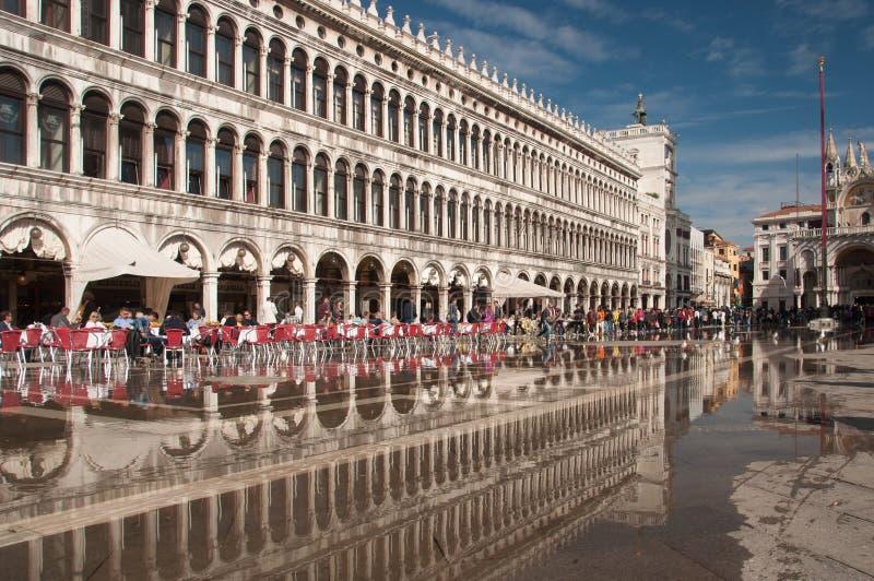 Reflexiones en Venecia fotos de archivo