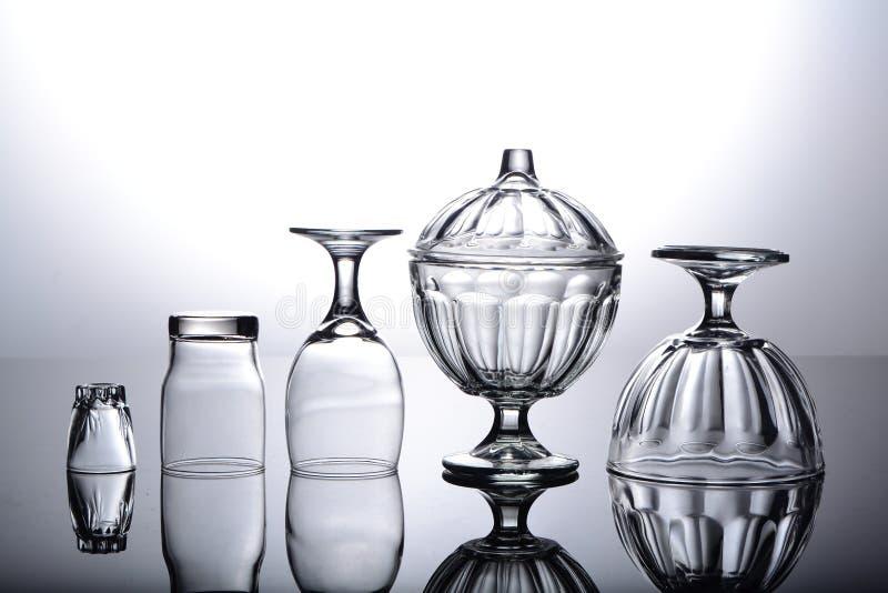 Reflexionsexponeringsglas arkivbild