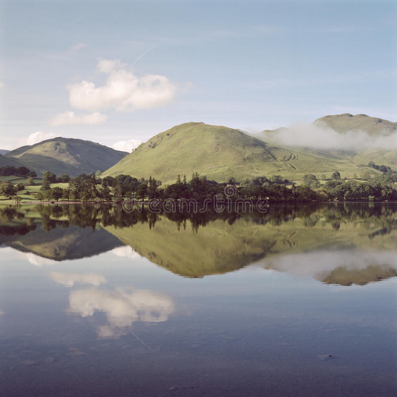 reflexionsullswater arkivfoto