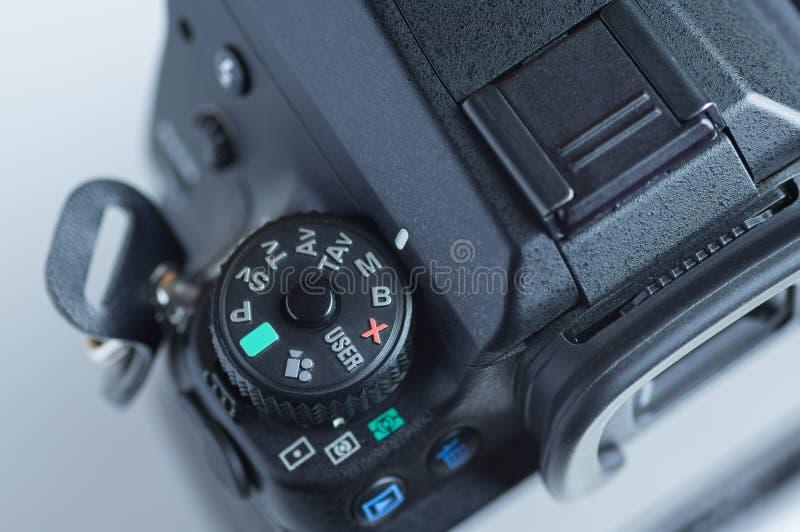 Reflexnummernscheibekamera stockfotografie