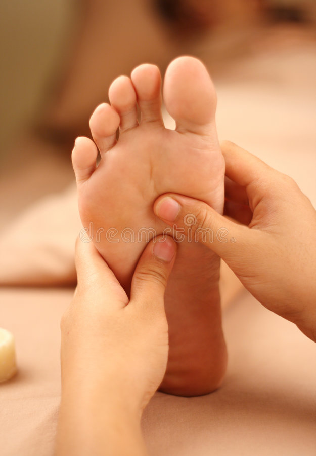 Reflexology stockfotografie