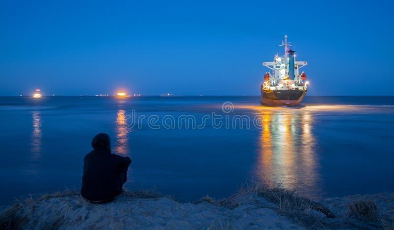 Download Refloating stock illustration. Image of cargo, ocean - 26925160