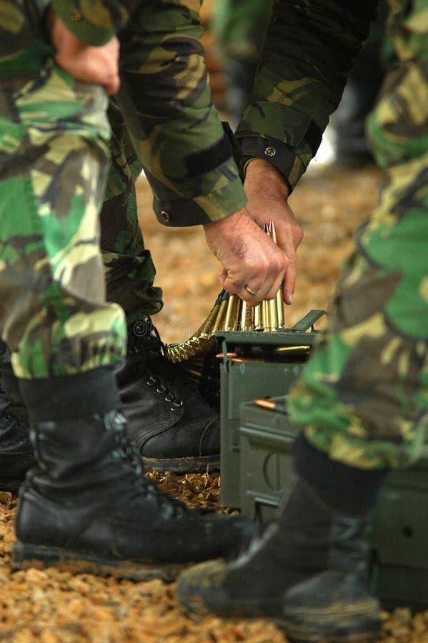 Reforço da munição imagem de stock