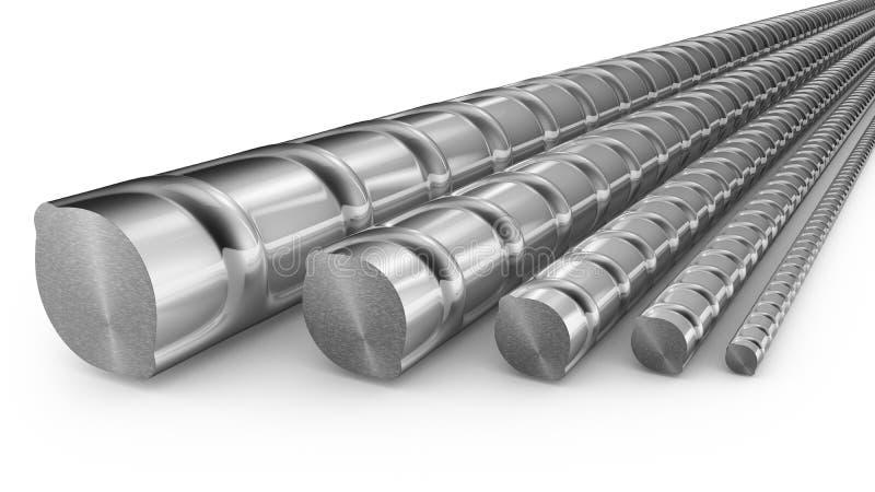 Reforços do metal ilustração stock