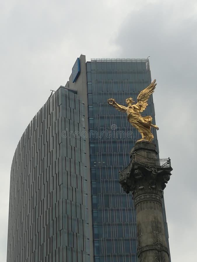 Reforma大道 免版税图库摄影