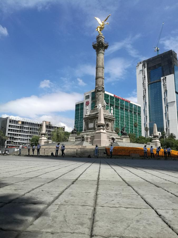 Reforma大道 库存图片