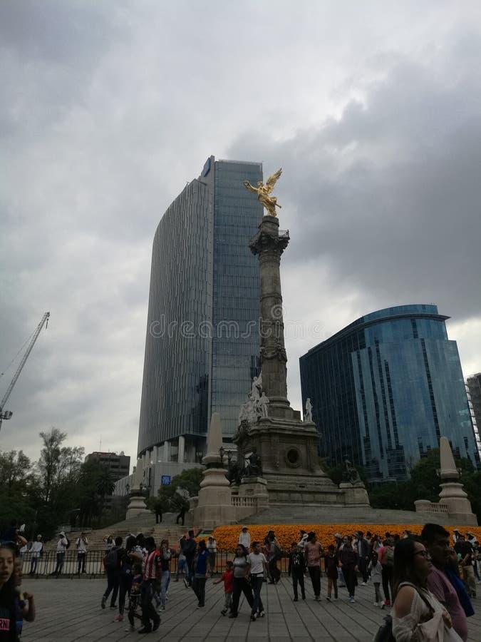 Reforma aveny royaltyfria bilder