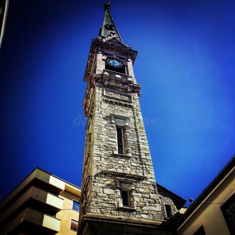 Reformierte Kirche St Moritz imagen de archivo
