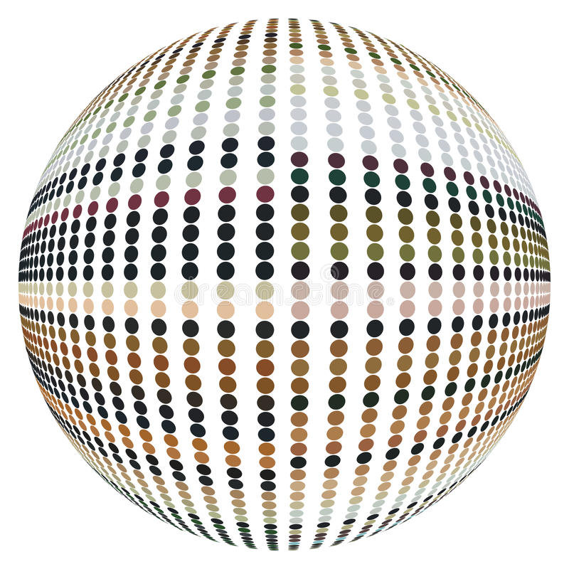 Free Refracting Spheres. Vector. Royalty Free Stock Photography - 11496127