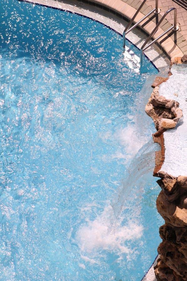 Refrescamento da cachoeira da associação do Golfo do México da praia da Cidade do Panamá imagem de stock royalty free