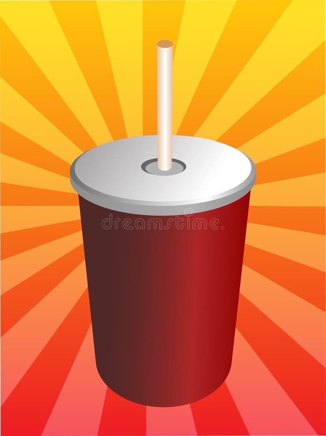 Refrescos da soda ilustração do vetor