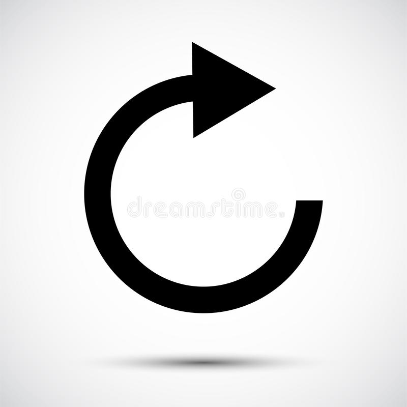 Free Refresh Icon Symbol Sign Isolate On White Background,Vector Illustration EPS.10 Stock Image - 158298751