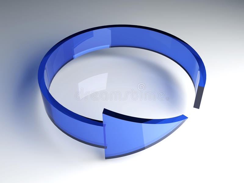 Download Refresh, reload, recycle stock illustration. Illustration of circle - 12089137