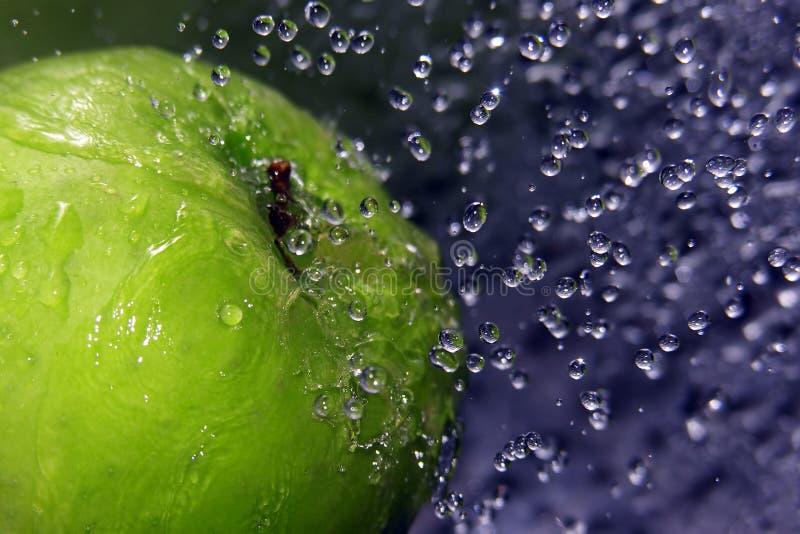 Refreshing apple stock image