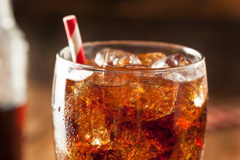 Refreshing Bubbly Soda Pop royalty free stock image
