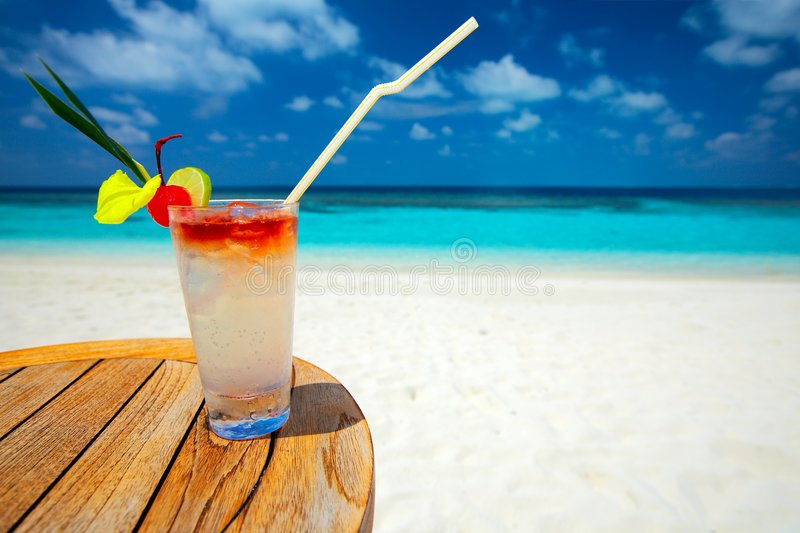Refreshing cocktail stock photography