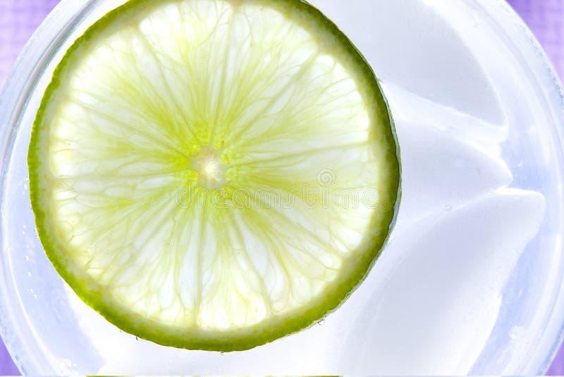 Refreshing lime royalty free stock image