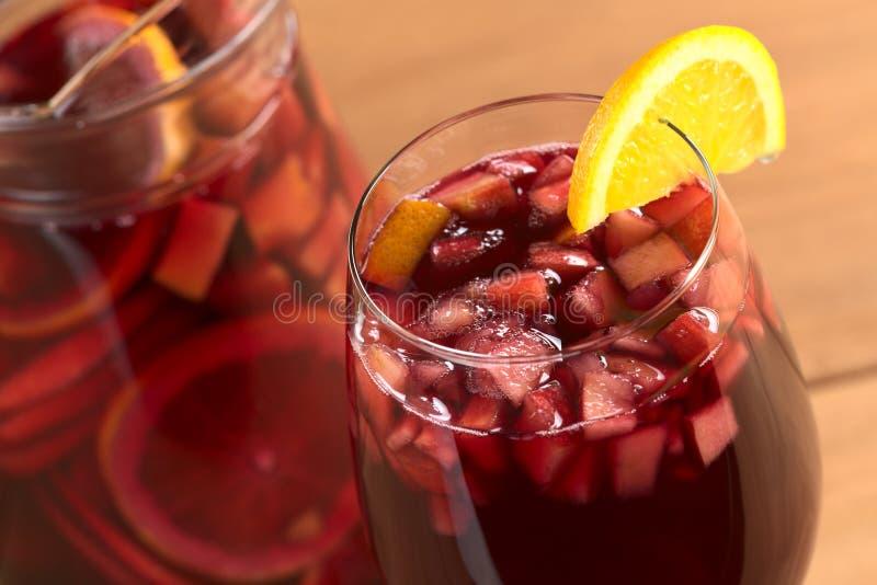 Download Refreshing Sangria stock photo. Image of horizontal, tropical - 20527316