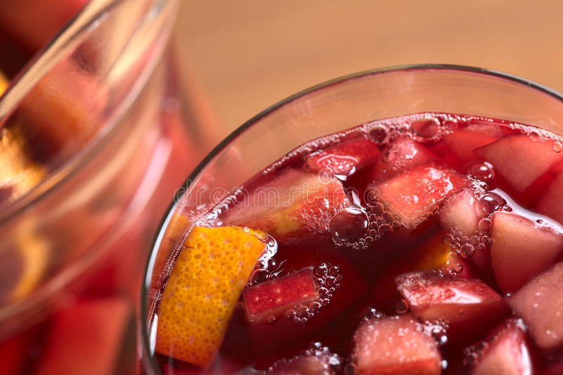 Refreshing Sangria royalty free stock photography