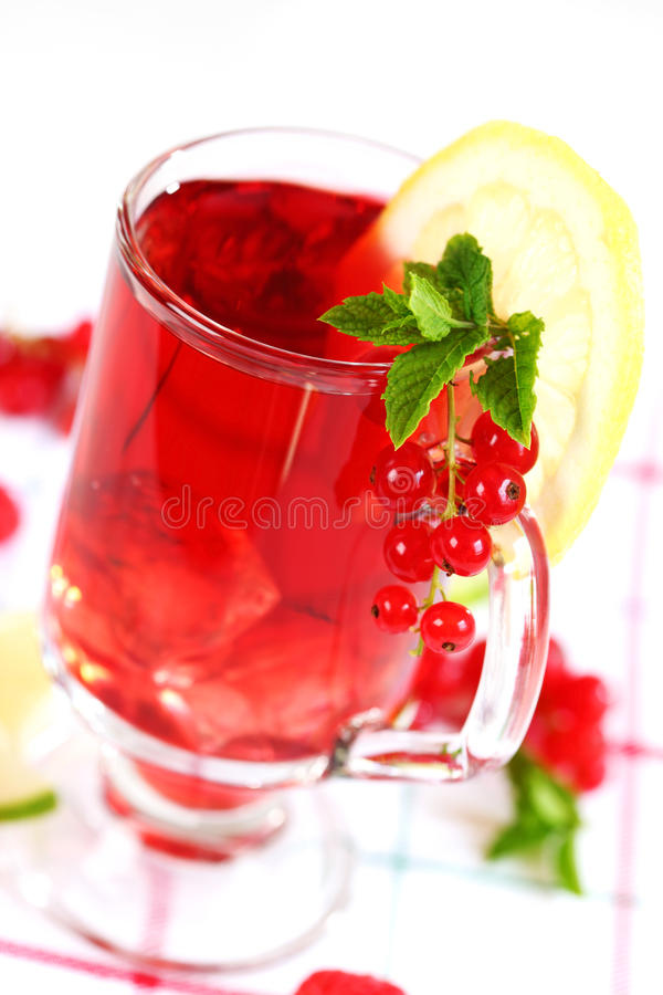 Download Refreshing summer ice tea stock photo. Image of background - 15196330