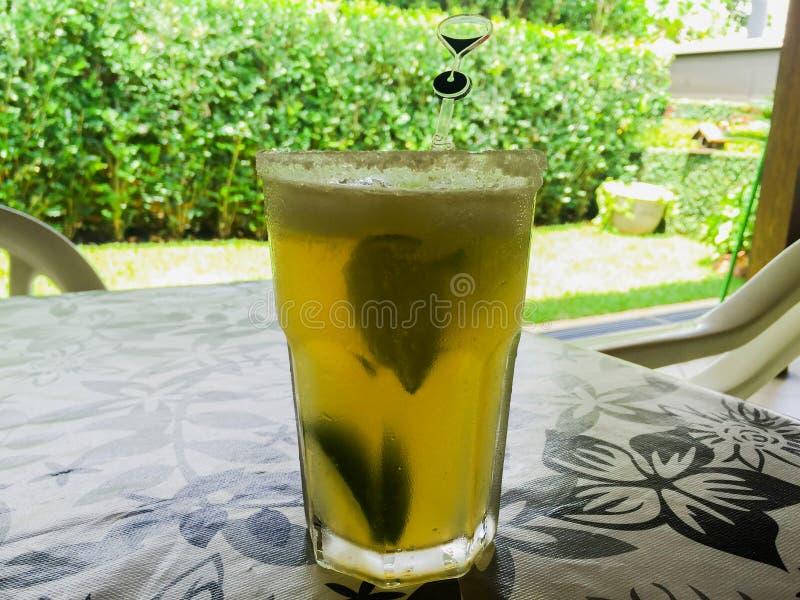 Refreshing summertime drink stock photo