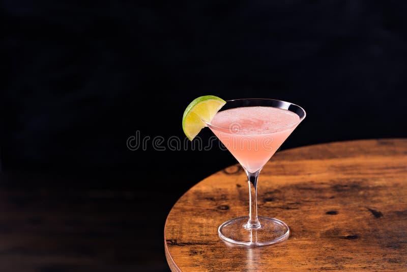 Refreshing Vodka Cosmopolitan Martini Cocktail stock photos
