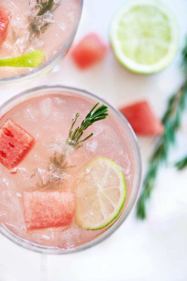 Refreshing Watermelon drink stock image