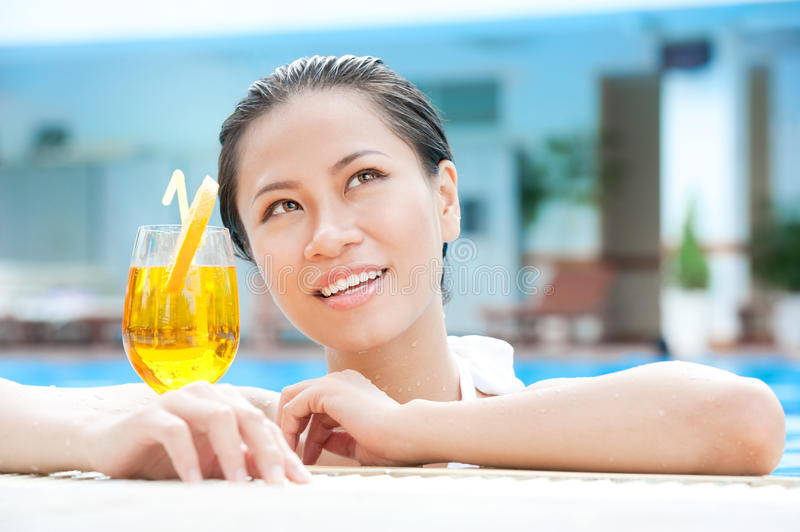 Download Refreshment stock image. Image of adult, beauty, leisure - 25687937