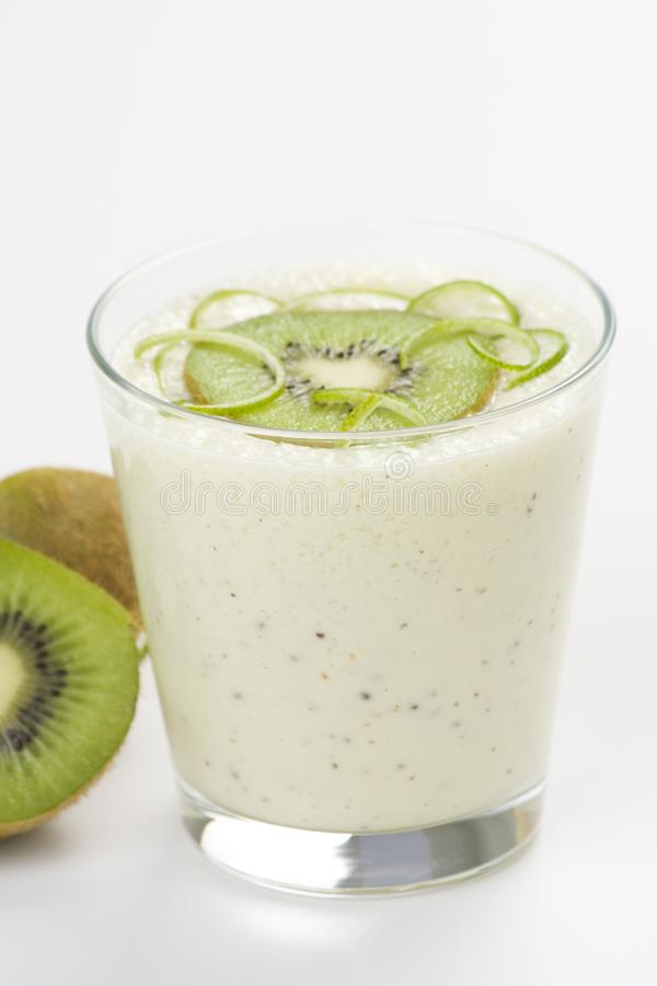 Download Refreshment And Creamy Milkshake  Kiwi And Lime Stock Photo - Image of freshness, cocktail: 9869898