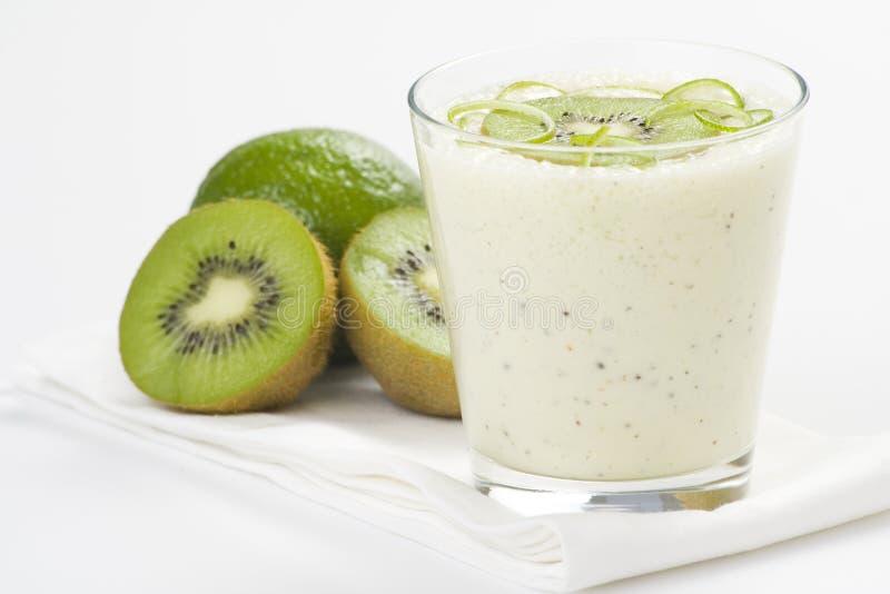 Download Refreshment And Creamy Milkshake  Kiwi And Lime Royalty Free Stock Image - Image: 9869936
