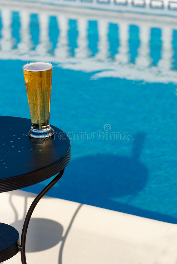 Refreshment on a hot day royalty free stock photos