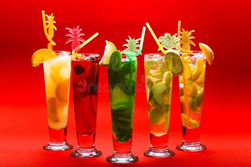 refreshments royaltyfri foto