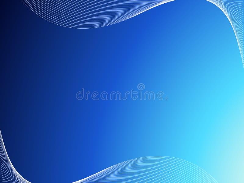 Refresque las ondas ilustración del vector