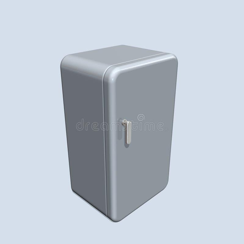 Refrigerador ilustração stock