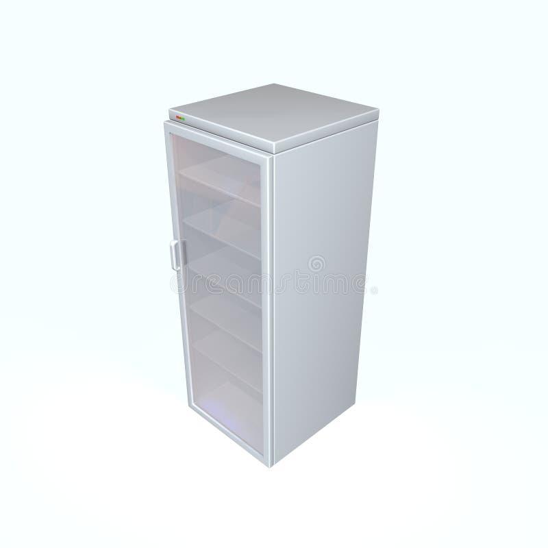 Refrigerador ilustração royalty free