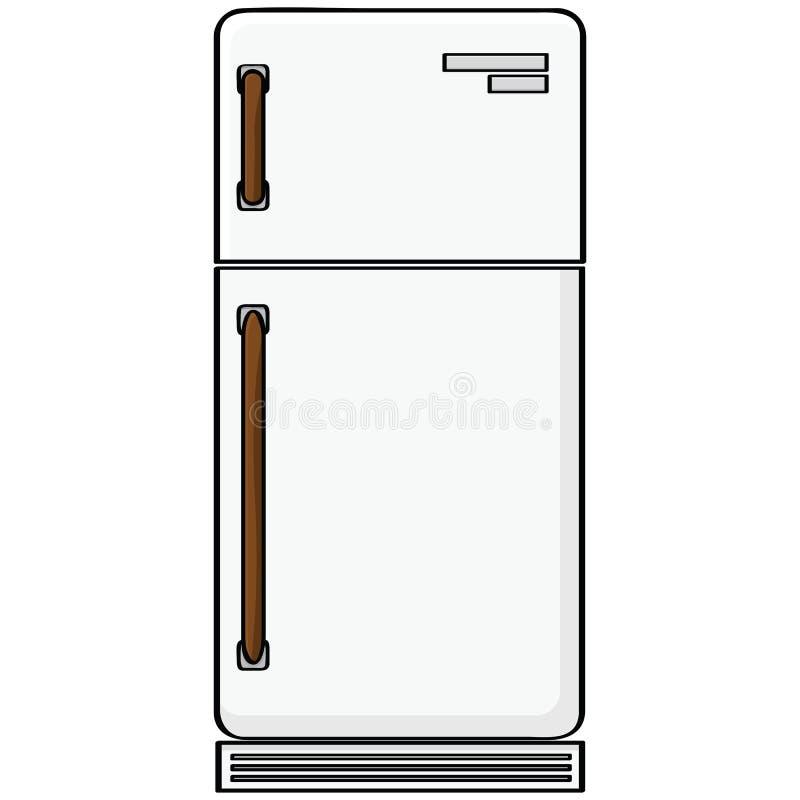 Refrigerador Foto de Stock Royalty Free