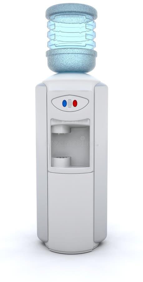 Refrigerador de água ilustração stock