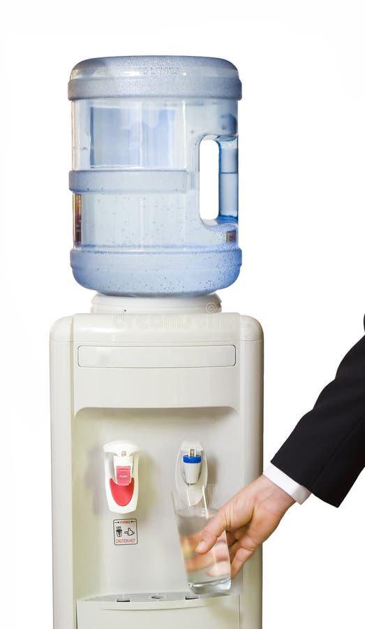 Refrigerador de água do escritório imagens de stock