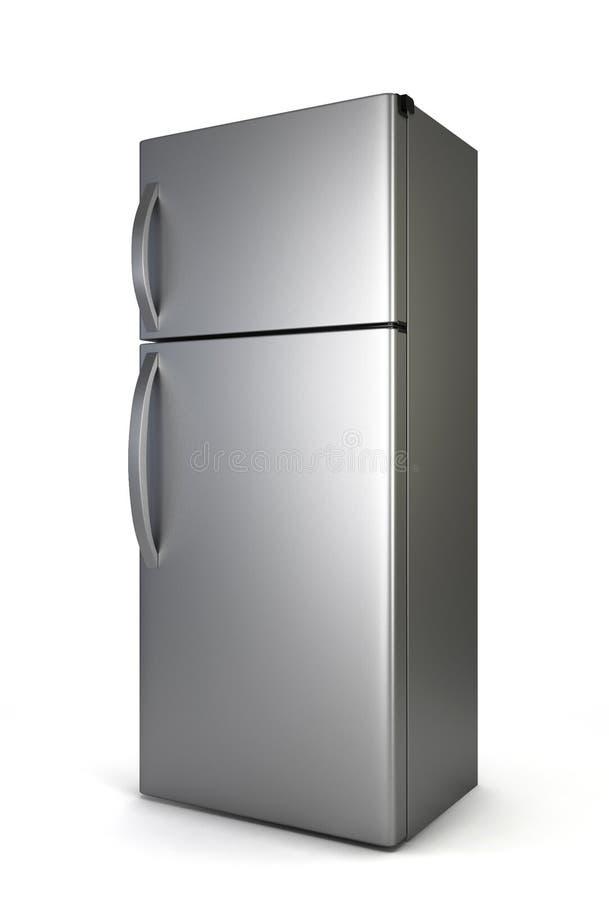 Refrigerador de acero libre illustration
