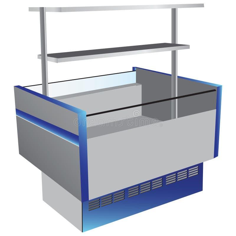 Refrigerador De La Baja Temperatura Fotografía de archivo
