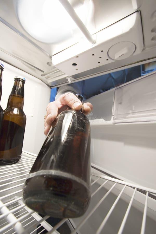 Refrigerador de la cerveza imágenes de archivo libres de regalías