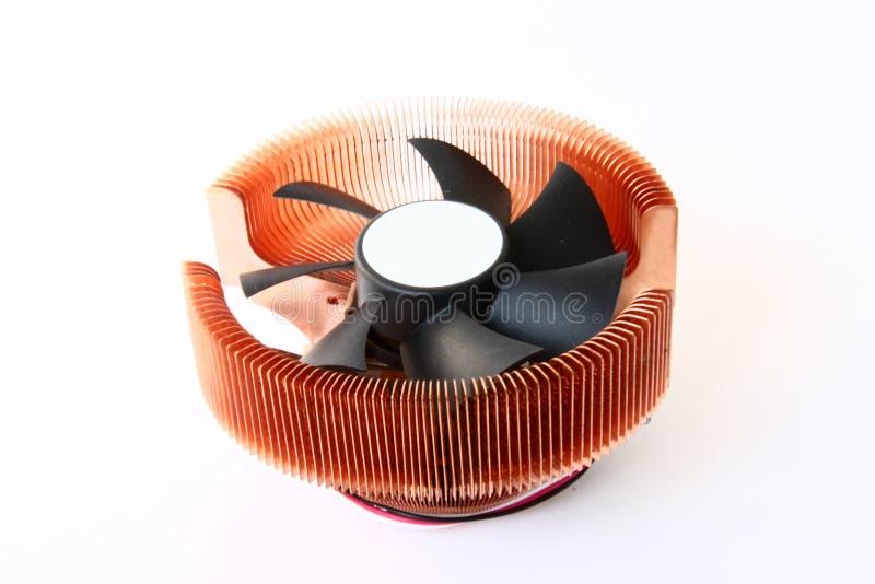 Refrigerador de la CPU fotografía de archivo