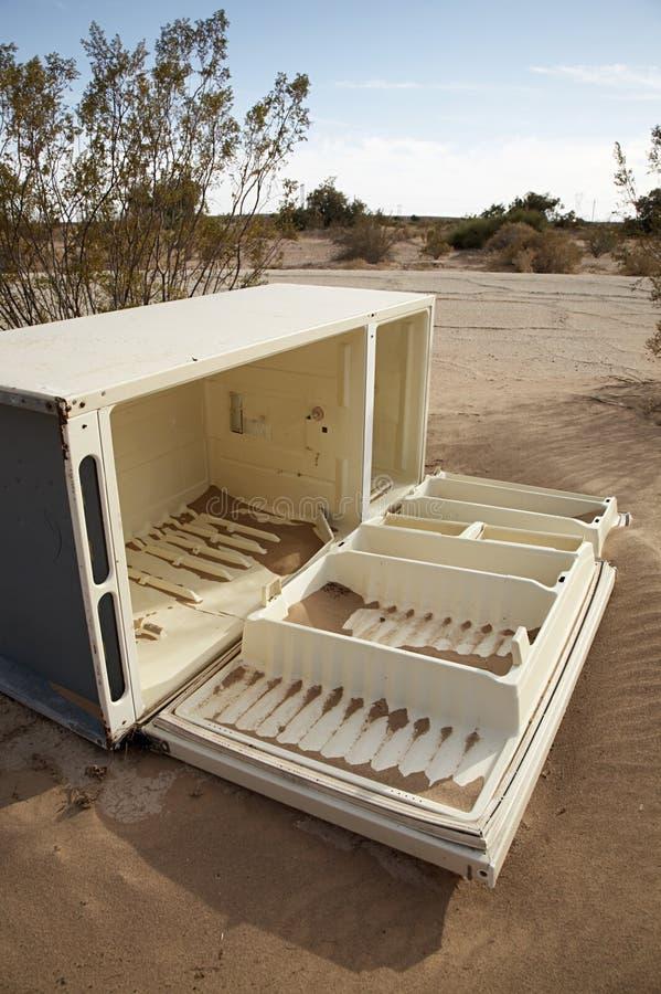 Refrigerador del desierto fotos de archivo libres de regalías