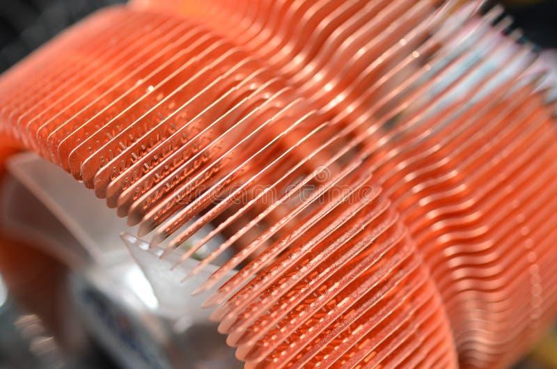 Refrigerador del ordenador imagen de archivo