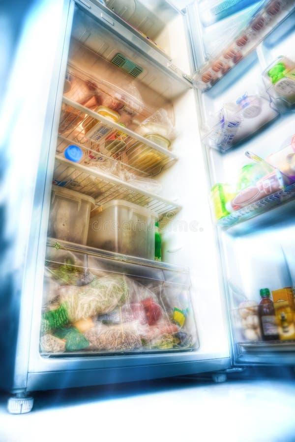 Refrigerador Futurista Imágenes de archivo libres de regalías