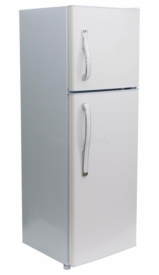 Refrigerador isolado foto de stock