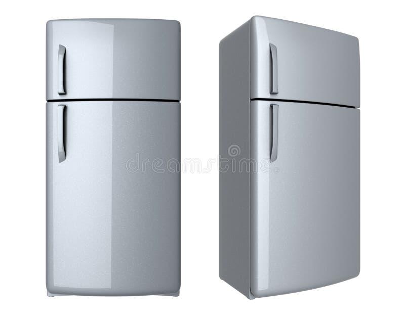 Refrigerador moderno ilustración del vector