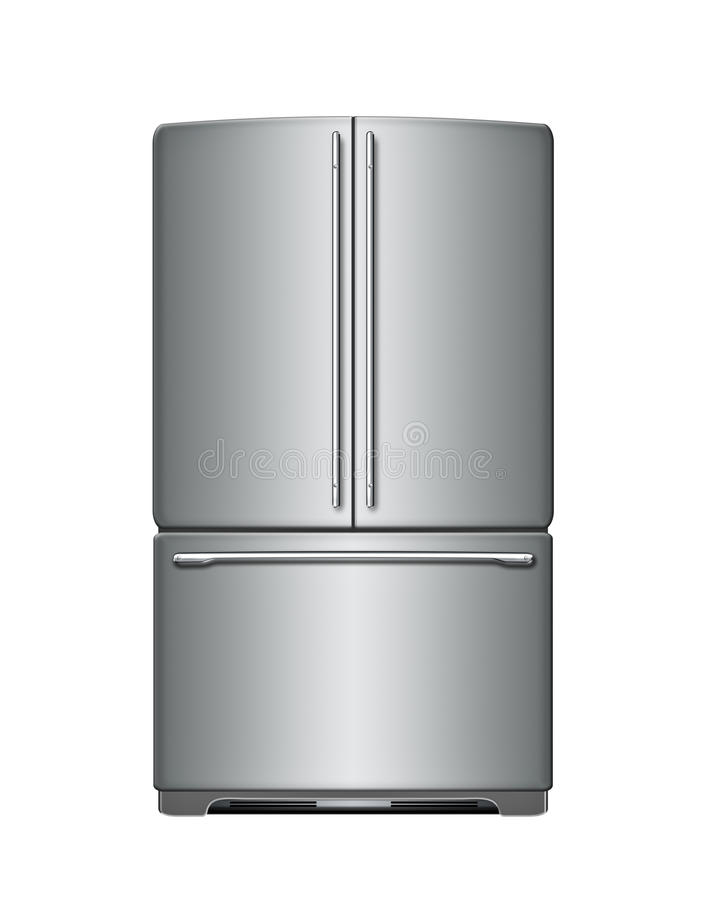 Refrigerador moderno libre illustration